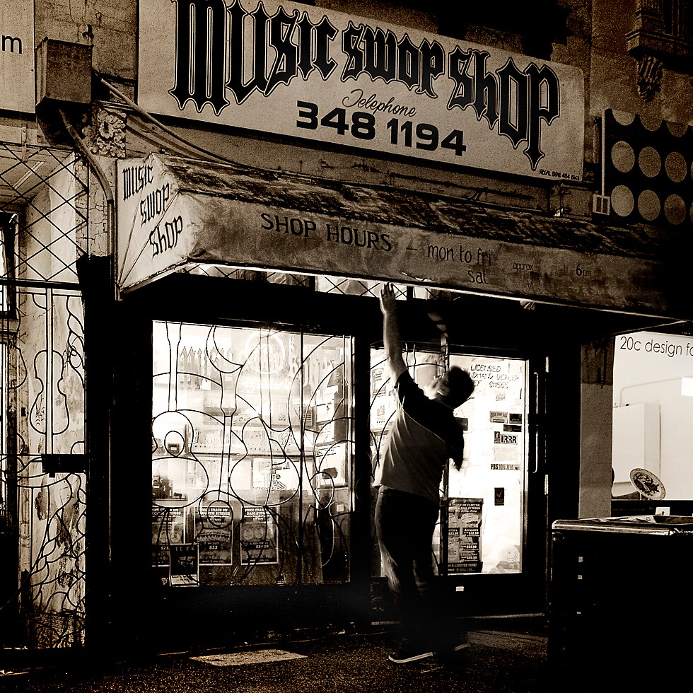 Music Swop Shop by Marcus Thomson