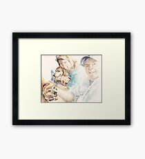 Laurie and Tom Framed Print