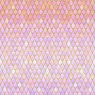 Pink Mermaid Scales by artlovepassion