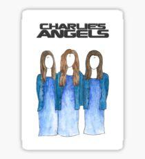 Charlie M's Angels Sticker