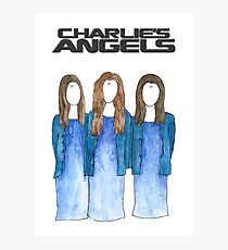 Charlie M's Angels Photographic Print