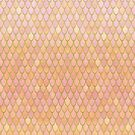 Sunrise Mermaid Scales by artlovepassion