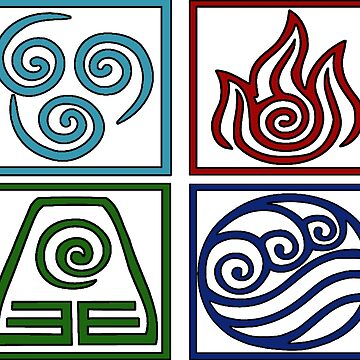 The Four Elements -Avatar by Epiclymadguy