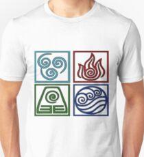 The Four Elements -Avatar T-Shirt