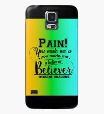 Imagine Dragons - Believer. Case/Skin for Samsung Galaxy