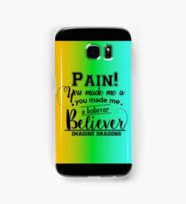 Imagine Dragons - Believer . Samsung Galaxy Case/Skin