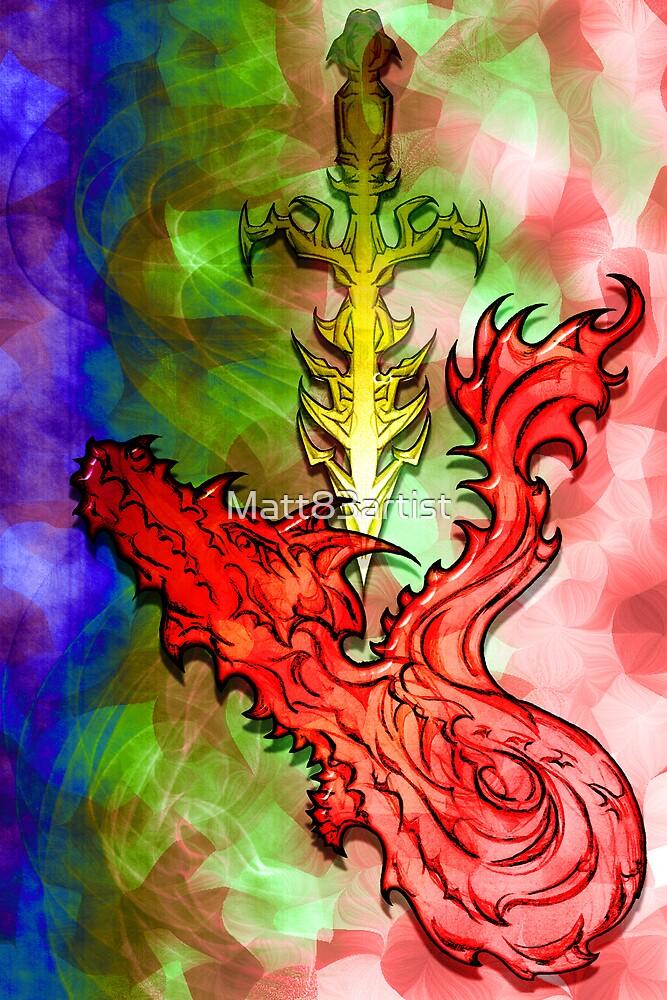 Magical Serpent Sword by Matt83artist