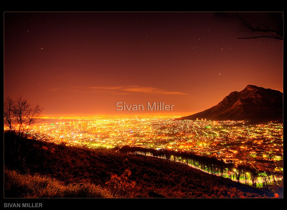 Table Mountain by Sivan Miller