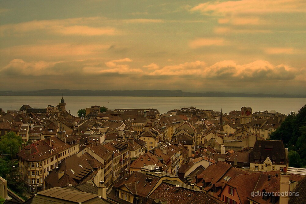 Rooftops by Gaurav Dhup