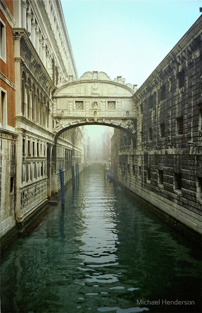 Brdige of Sighs in Venice by Michael Henderson