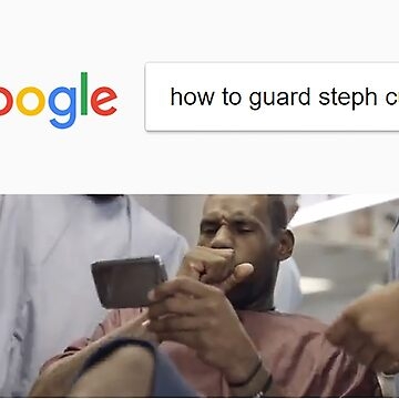 How to guard Steph Curry - Lebron James meme by Sndn