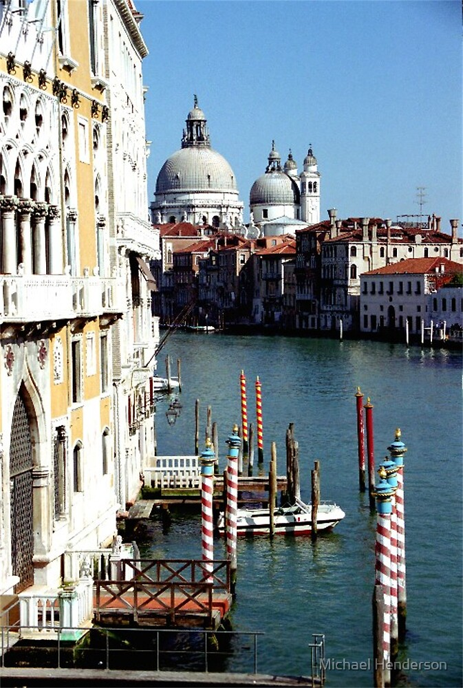 Grand Canal in Venice by Michael Henderson