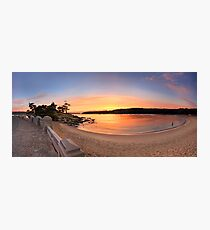 Sunrise Balmoral Beach Panorama  Australia seascape landscape Photographic Print
