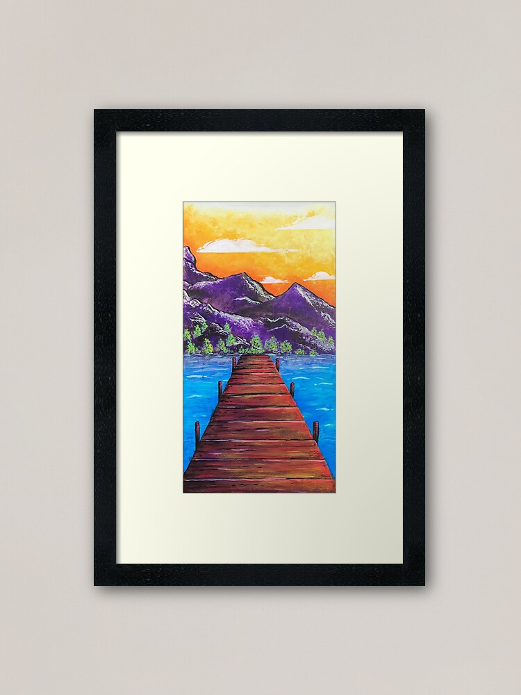 Alternate view of Our Walk Continues On Framed Art Print