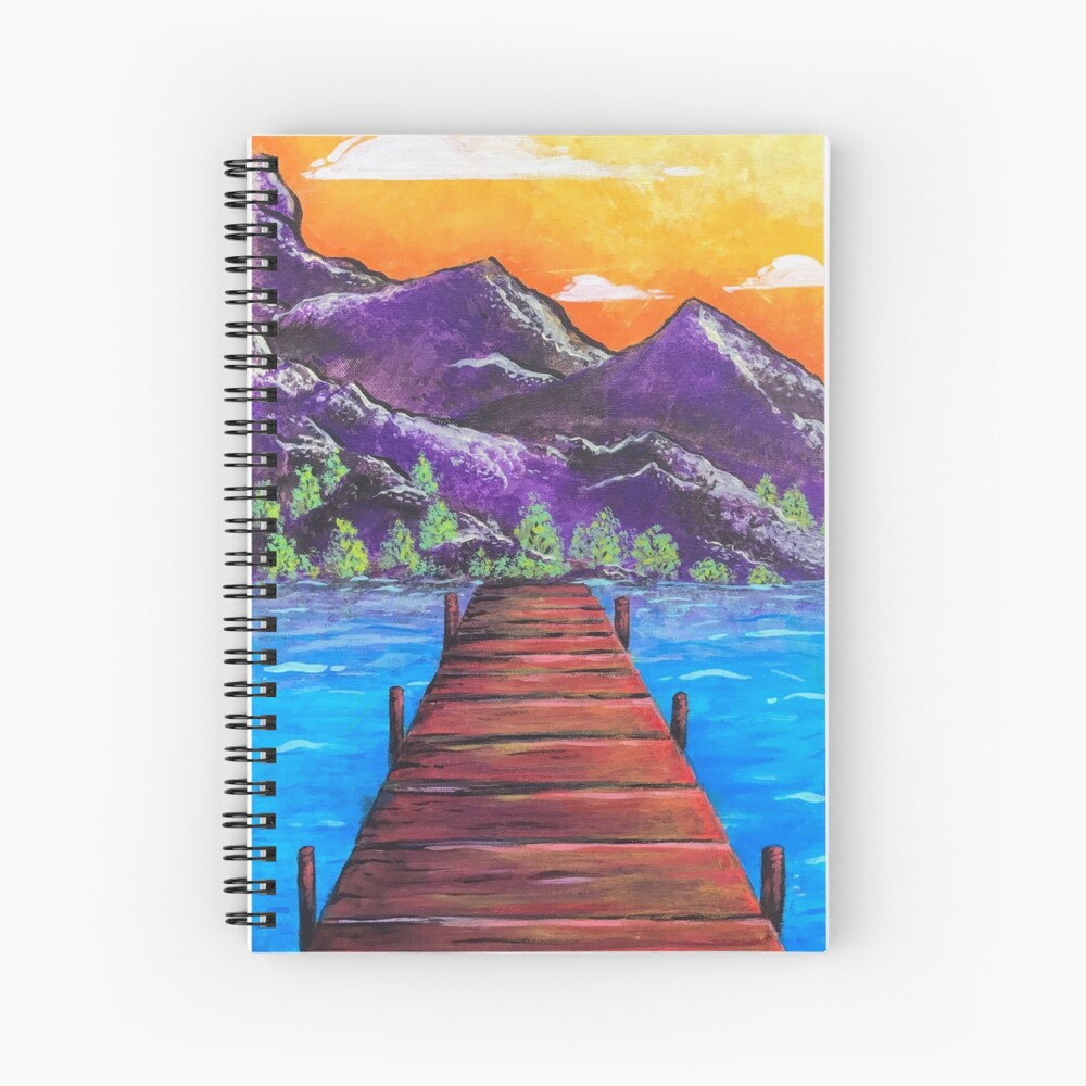 Our Walk Continues On Spiral Notebook