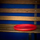 Red Frisby by chrissy53