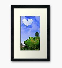 One World Picnic Framed Print