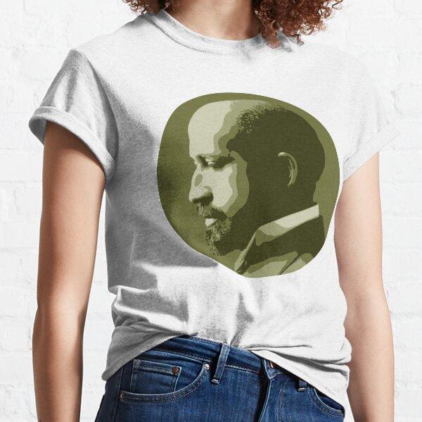 W.E.B. DuBois Green Portrait Classic T-Shirt