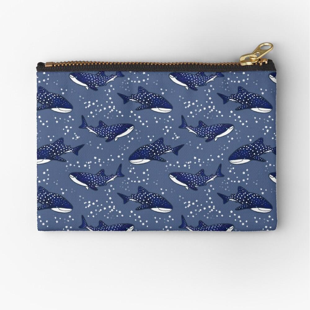 Tiburones ballena estrellados (versión oscura) Bolsos de mano