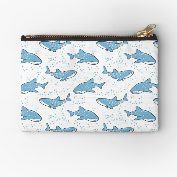 Starry Whale Sharks (Light version) Zipper Pouch