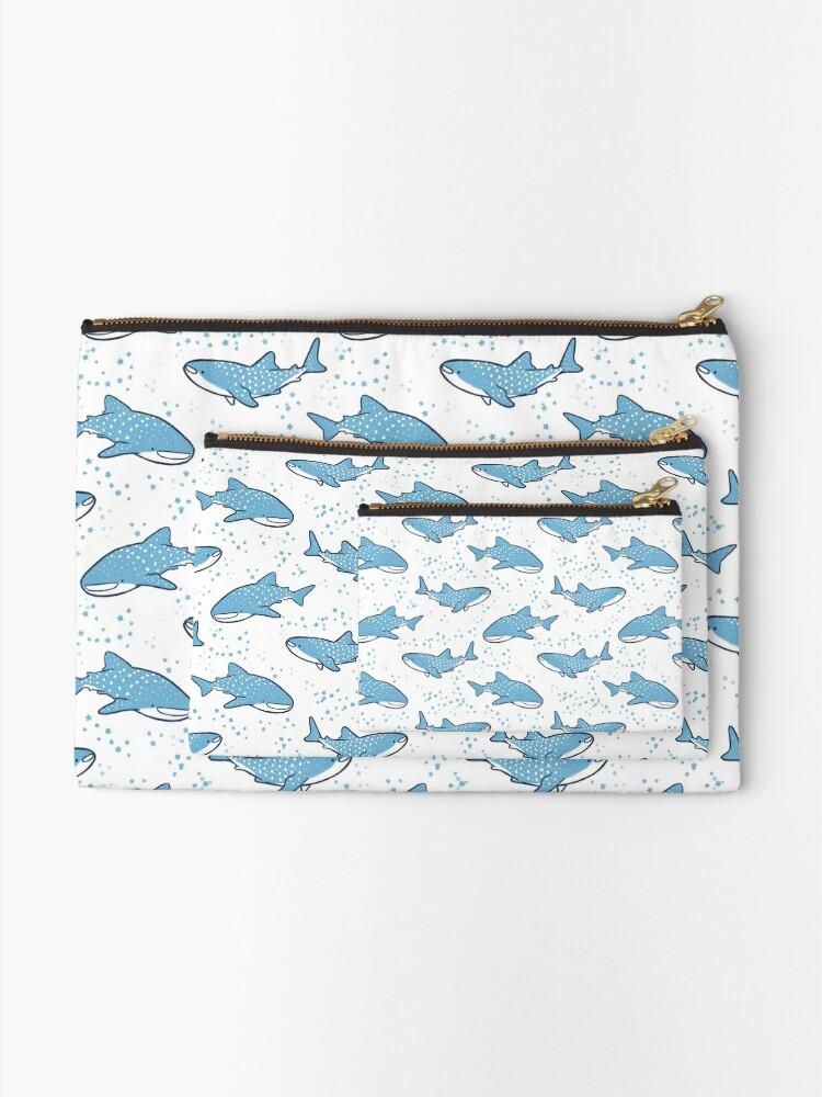Vista alternativa de Bolsos de mano Tiburones ballena estrellados (versión ligera)