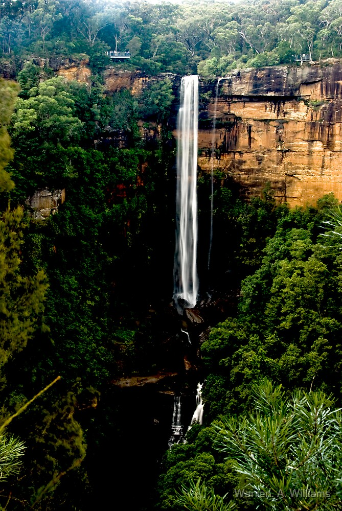 Fitzroy Falls by Warren. A. Williams