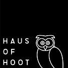Haus of Hoot Logo Black by HausOfHoot