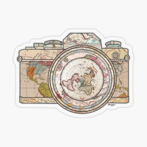 Travel Transparent Sticker