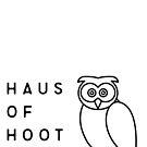 Haus of Hoot Logo White by HausOfHoot