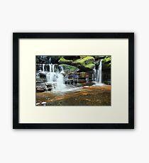 Somersby Waterfalls Australia landscape Framed Print