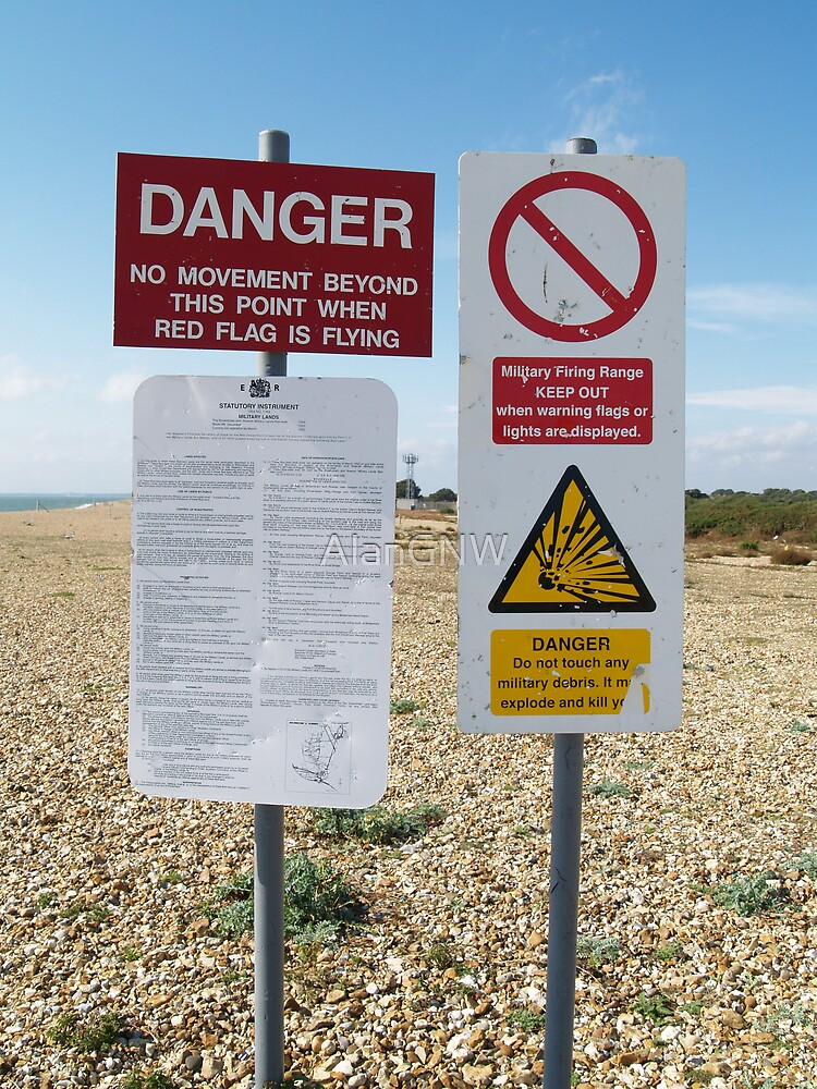 Danger Signs, Portsmouth by Alan Gandy