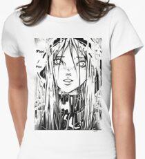 Anaë sous la pluie T-shirt col V femme