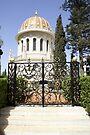 The Shrine of the Báb Haifa Israel by Moshe Cohen