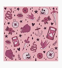 Deadly Pink Photographic Print