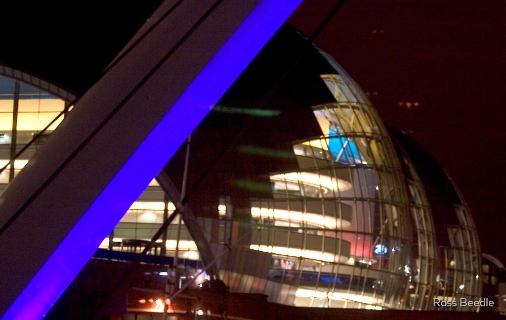 Sage building & milllenium bridge  Newcastle by Ross Beedle