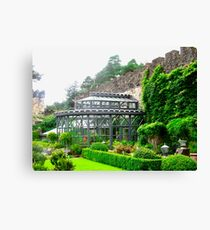 The Greenhouse at Glenveagh Castle, Donegal, Ireland Canvas Print