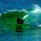 Boogie Boarding by UncaDeej