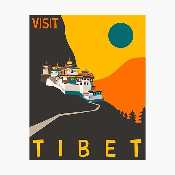 Tibet Photographic Print