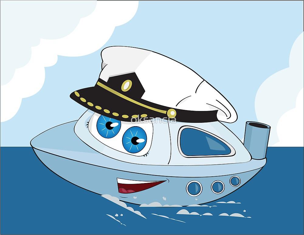 Cute ship-captain by oksancia