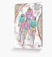 CICLISMO 01 Greeting Card