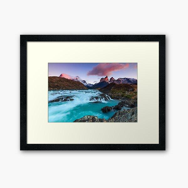 Buenos Díaz Patagonia Framed Art Print
