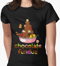 Fondue Fun Womens Fitted T-Shirt