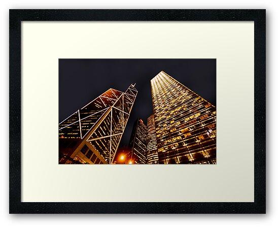 Hong Kong at Dusk by Keegan Wong
