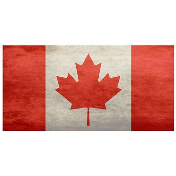 Canadian Flag Sticker Sheet - National Flag of Canada - Maple Leaf Stickers by deanworld