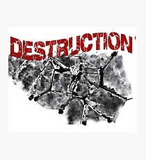 Destruction  Photographic Print