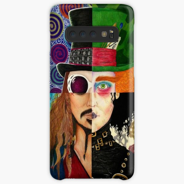 Johnny Depp Character Collage Samsung Galaxy Snap Case