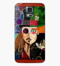 Johnny Depp Character Collage Case/Skin for Samsung Galaxy