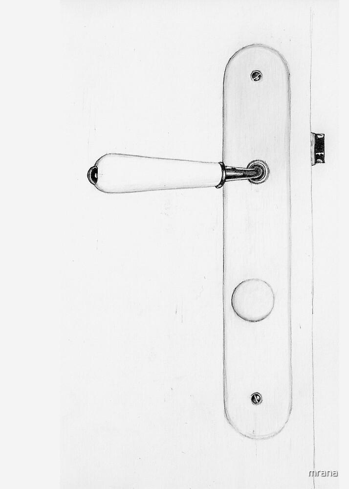White Doorknob by Mariana Musa
