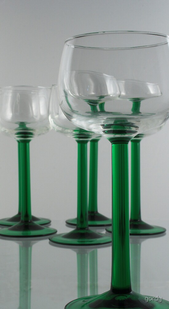 Hock glasses by gordy