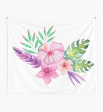 Tropical bouquet i Wall Tapestry